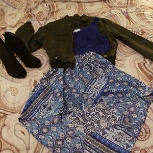 Emerald Sundae Dress